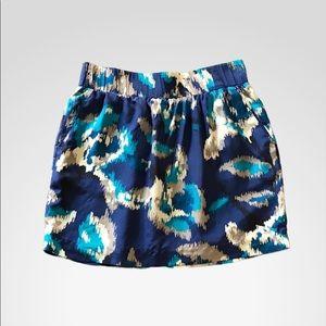 Ann Taylor LOFT 100% Silk Skirt w/ Pockets Sz S